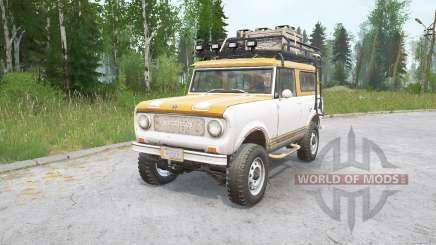 International Harvester Scout 800 v1.0 для MudRunner