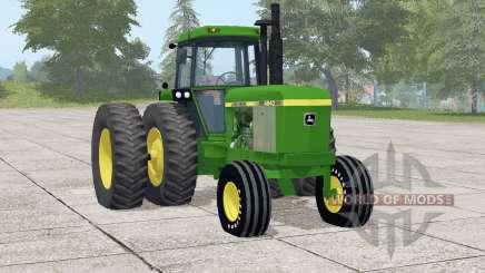 John Deere 46ꜭ0 для Farming Simulator 2017