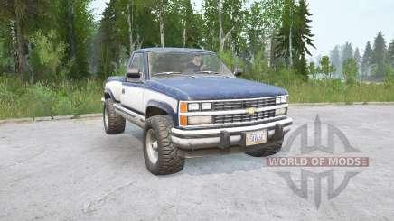 Chevrolet K1500 Regular Cab Sportside 198৪ для MudRunner