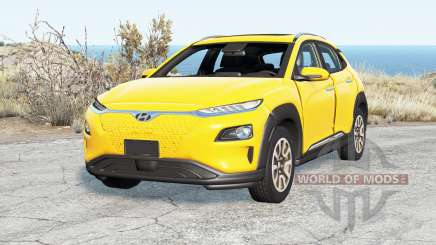 Hyundai Kona Electric (OS) 2019 для BeamNG Drive