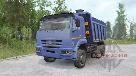 КамАЗ-652Զ для MudRunner