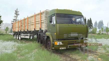 КамАЗ-6460 6x4 для MudRunner