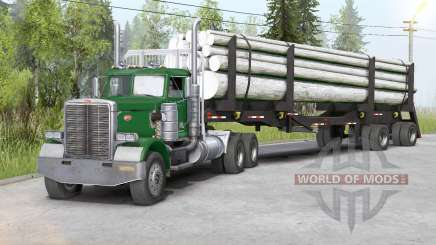 Peterbilt 379〡three colors to choose from для Spin Tires
