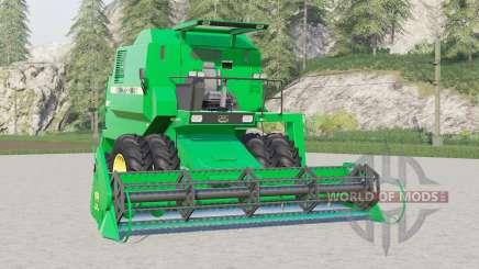 John Deere 7000〡new tire options для Farming Simulator 2017