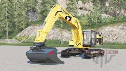 Caterpillar 320E L для Farming Simulator 2017