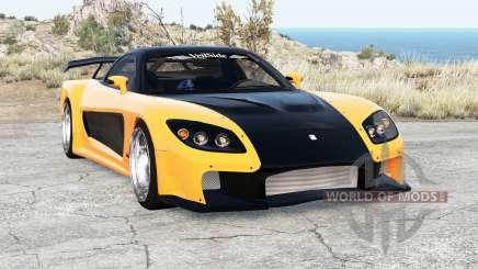 Mazda RX-7 VeilSide Fortune v2.0 для BeamNG Drive
