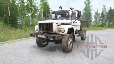 TUZ 108 Warthog для MudRunner