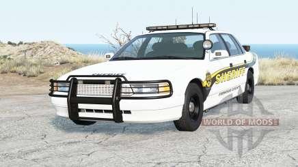 Gavril Grand Marshall Firwood County Sheriff для BeamNG Drive