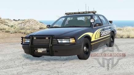 Gavril Grand Marshall River Highway County Sheriff для BeamNG Drive