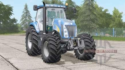 New Holland TG28ⴝ для Farming Simulator 2017