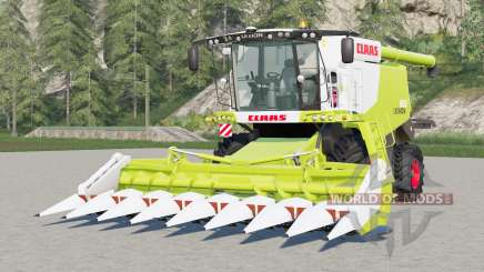 Claas Lexion 600〡movable rear axle для Farming Simulator 2017