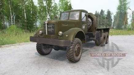 ЯАЗ-210 для MudRunner