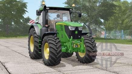 John Deere 6R seriꬴs для Farming Simulator 2017