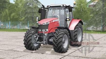 Massey Ferguson 6600 serieʂ для Farming Simulator 2017