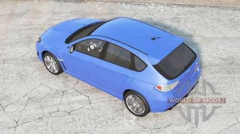 Subaru Impreza WRX STI (GRB) 2008 для BeamNG Drive