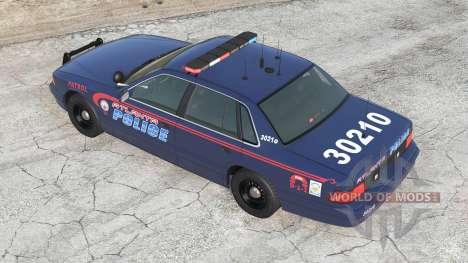 Gavril Grand Marshall Atlanta Police для BeamNG Drive