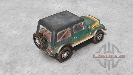 Jeep CJ-7 Renegade для Spin Tires
