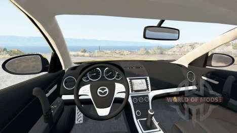 Mazda6 Hatchback (GH) 2007 для BeamNG Drive