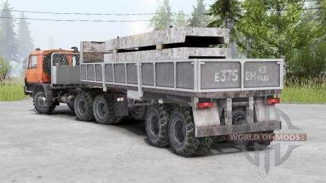 Tatra T815〡присутствуют свои грузы для Spin Tires