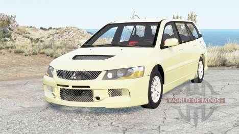 Mitsubishi Lancer Evolution IX Wagon 2005 для BeamNG Drive