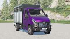 Renault Master Livestock Truck для Farming Simulator 2017