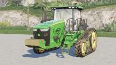 John Deere 8RT series〡front weight configuration для Farming Simulator 2017