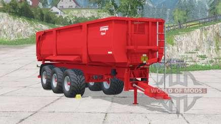 Krampe Big Body 900 для Farming Simulator 2015