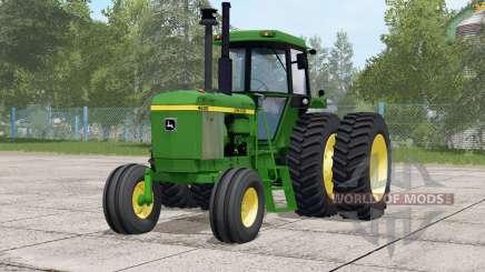 John Deere 46ろ0 для Farming Simulator 2017