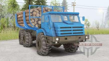 MoAZ-74111 для Spin Tires