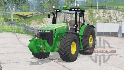 John Deere 8320R〡animated hydraulic для Farming Simulator 2015