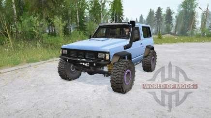 Nissan Patrol Hard Top (260) для MudRunner