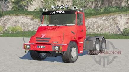 Tatra T163 6x4 Jamal Tractor Truck 1999 для Farming Simulator 2017