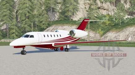 Learjet 75 для Farming Simulator 2017