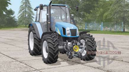 New Holland T5000 series〡includes front weight для Farming Simulator 2017