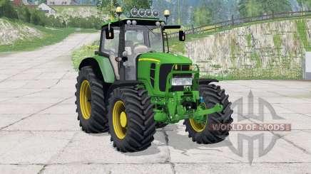 John Deere 7430 Premium〡light bar для Farming Simulator 2015