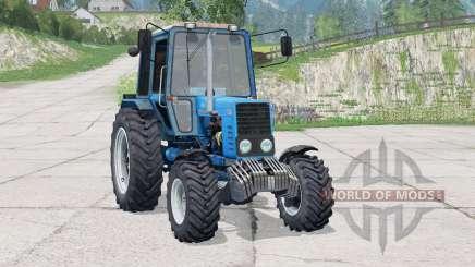 МТЗ-82.1 Беларус〡при движении оставляет следы для Farming Simulator 2015