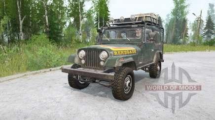 Jeep CJ-7 Renegade для MudRunner