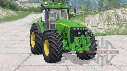John Deere 8520〡adjusting the steering column для Farming Simulator 2015