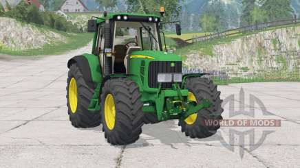John Deere 63Ձ0 для Farming Simulator 2015
