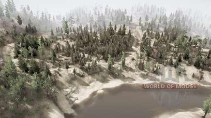 Каньон реки для MudRunner