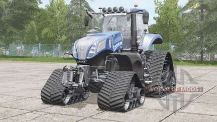 New Holland T8 series〡bit more power для Farming Simulator 2017