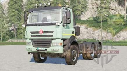 Tatra Phoenix T158 6x6 Tractor Truck 2012 для Farming Simulator 2017
