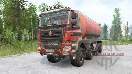 Tatra Phoenix T158 8x8 v1.1 для MudRunner