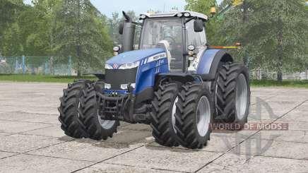 Massey Ferguson 8700 series〡narrow twin tire set для Farming Simulator 2017