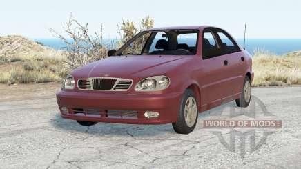 Daewoo Lanos Sedan (T100) 1997 для BeamNG Drive