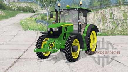 John Deere 6090RC〡folding front hitch для Farming Simulator 2015