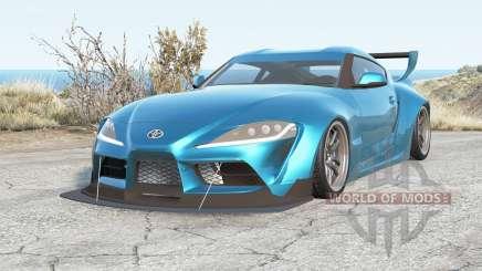 Toyota GR Supra Pandem (A90) 2020 для BeamNG Drive