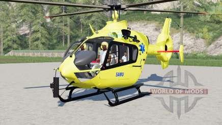 Eurocopter EC145 SAMU для Farming Simulator 2017