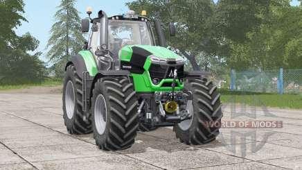 Deutz-Fahr Serie 9 TTV Agrotron〡interior animated для Farming Simulator 2017