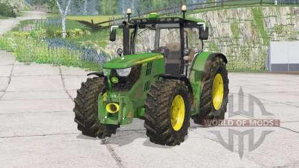 John Deere 6170R〡bonnet opens для Farming Simulator 2015